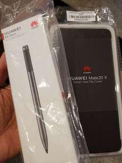 Huawei mate 20x M pen and casing