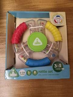 BNIB Mothercare ELC Rattle Set