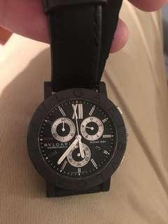 bvlgari carbongold Watch