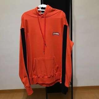 🚚 韓國超人氣潮牌 Charm's line hoody(orange)橘色 長袖 連帽 上衣