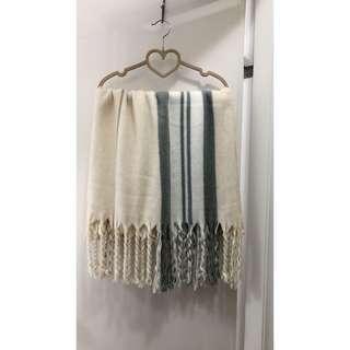 🚚 🎉新春優惠✨雙色針織毛圍巾120✨不議價