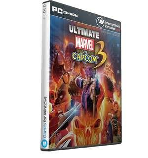 PC DVD Games Ultimate Marvel vs Capcom 3