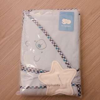 🚚 全新 麗嬰房 功能性包巾