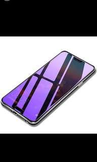 Oppo r17/r17 plus anti-blue ray purple screen protector