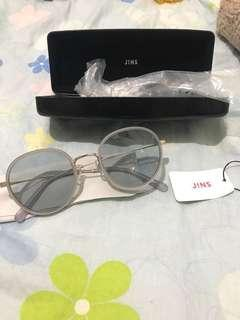 全新egg太陽眼鏡 jins Sunglasses niko and文青眼鏡