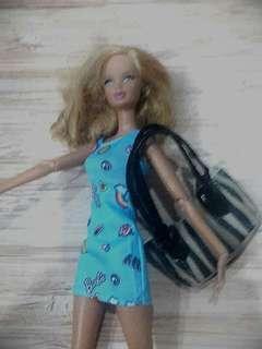 Barbie handbag miniature