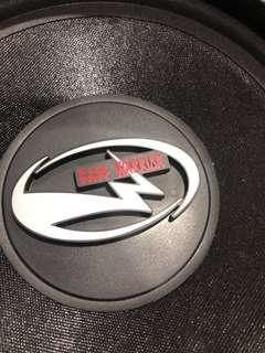 Bass Warrior CAR Radio Subwoofer very SOLID