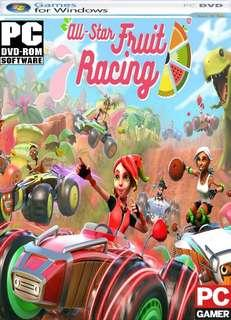 PC DVD Games All Star Fruit Racing