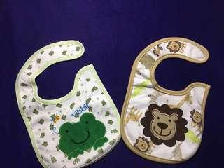 (FREE SHIPPING)2 bibs for boys