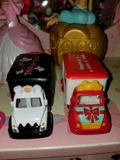 Tomica 全新 絶版 Disney Motor Vehicle Halloween 萬聖節 貨車 無盒