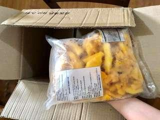 Export Quality Frozen Mangoes