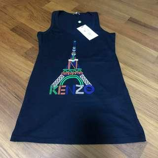 Authentic KENZO ladies sleeveless Tee / Tank TOP for sale!