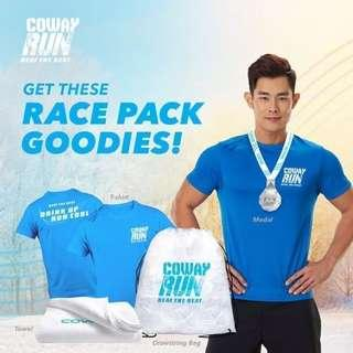 #BROOKS | Coway Run Beat the Heat T-Shirt(S) #Rm20