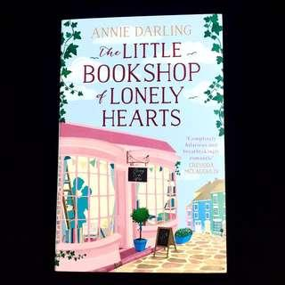 The Little Bookshop Of Lonely Hearts by Annie Darling (romance novel book)