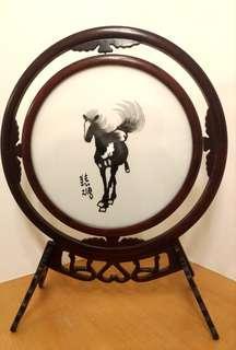 徐悲鴻 蘇繡作品