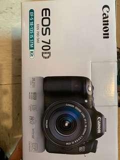 Canon EOS 70D + 18-135 IS STM Kit set