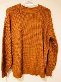 American Eagle Yellow Sweater