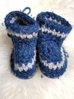 Padraig cottage baby toddler slippers shoes. Size B5 or size