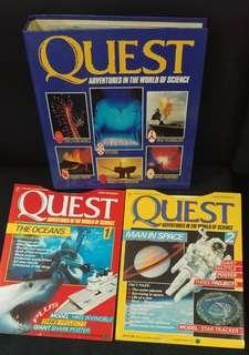 Quest Adventures in World of Science Educational Books Magazine