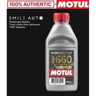 Motul RBF 660 Racing Brake Fluid Factory Line Dot 4 (500ml Bottle)