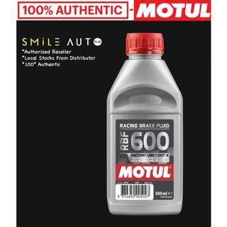 Motul RBF600 Racing Brake Fluid Factory Line Dot 4 (500ml Bottle)