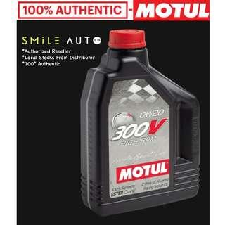 Motul 300V High RPM 0W20 Engine Oil (Please Chat For Promo)