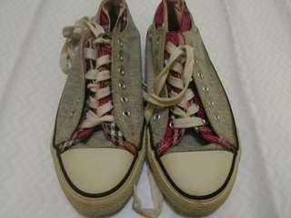 Sepatu Abu2 Pink