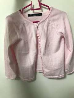 🚚 Coldwear Pastel Pink Cardigan 3 to 5 year old