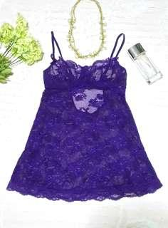 """Victorias Secret"" Full Lace Babydoll"