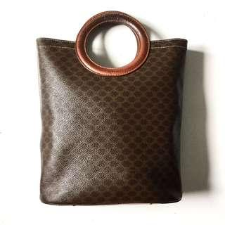 PLOVED: Vintage Authentic Celine Macadam Hand Bag