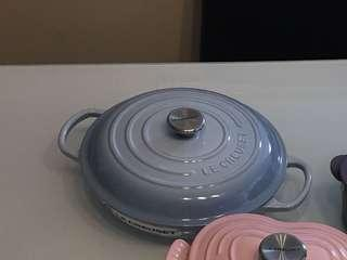 Le Creuset Coastal blue 3.5 L limited color braiser