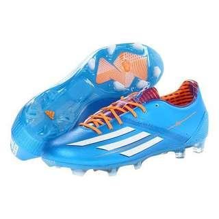 Brand New Adidas F30 Blue Football Shoes, Size 8 and 10