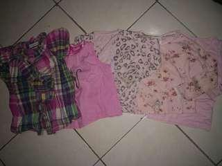 (📮 postage included) Various brand pink tops,  cardigan, shirt for girls 3-4yo