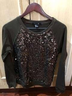 Forever 21 Sparkly Sweater