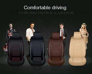 LEATHER CAR SEAT COVER (PU Material) Perodua,Proton,Toyota,Nissan,Honda,Mazda (READY STOCK)