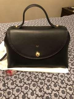 Celine Black Leather Bag