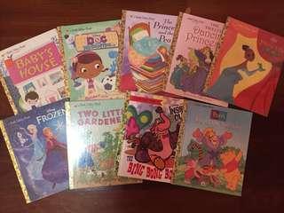 Little Golden Books (take all)