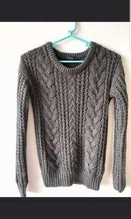 Terranova Knitted Gray Shirt