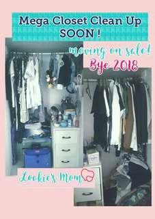 Mega Closet Clean Up Sale
