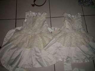 (📮 Postage Included) Siblings sisters matching flower girl princess dress