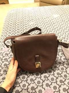 Mulberry Small Tessie Satchel in Brown