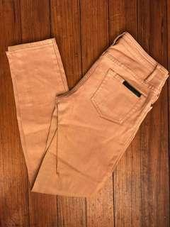 Sass and Bide lovestate playman jeans size 26 8 camel tan brown