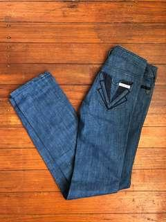 Sass and Bide mid blue denim jeans size 25 / 7