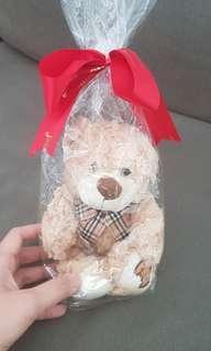 🚚 BN Teddy bear with ribbon