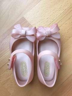 Mini Melissa UltraGirl Bow II (Light pink)