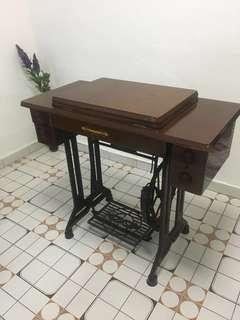 $188 CNY sales. More than 40yrs antique sewing machine butterfly brand # vintage collectibles