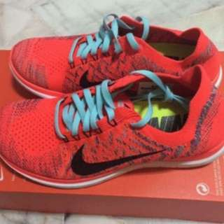 456d0d5e45df Nike WMNS Free 4.0 Flyknit Running Shoes (Size US7.5)