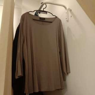[PRICE REDUCED] PLUS SIZE MS READ Long Sleeved Blouse