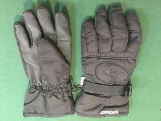 Mens Spyder Ski Gloves (Large)