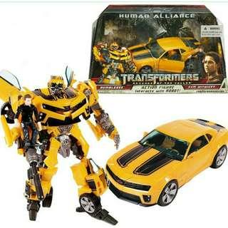 (Pre-Order) Transformers Revenge Of The Fallen Bumblebee Human Alliance KO Action Figure